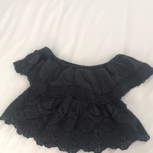 American Eagle off the shoulder XS